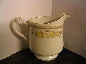Ekco China Golden Autumn Creamer
