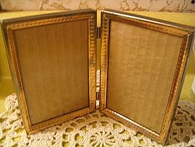 Vintage Double Picture Frame