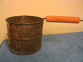 Vintage Red Handle Sifter