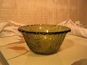 Indiana Glass Weavetex Bowl