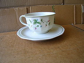 Mount Clemens Wild Berry Cup and Saucer