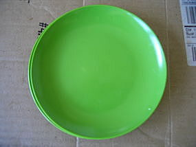 Texas Ware Lime Green Plate