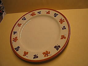 Homer Laughlin Maplewood Plate