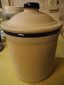 Western Stoneware Canister