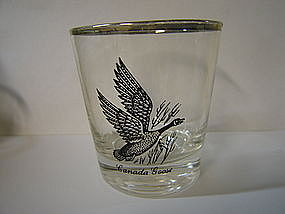 Canadian Goose Glass