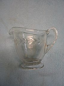 Etched Laurel Creamer
