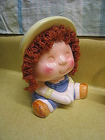 Curly Hair Child Bank