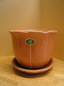 Pink Clay Planter