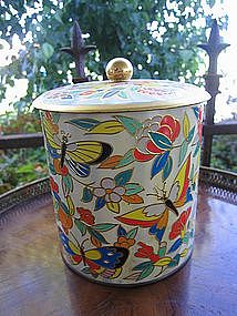 Butterfly Cookie Tin
