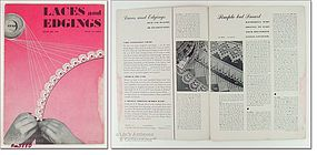"BOOK NO. 199 – ""LACES AND EDGINGS"" (1943)"