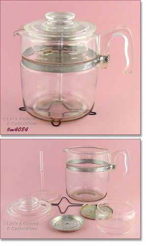 PYREX – 9 CUP COFFEE MAKER / COFFEE POT