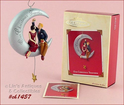 "HALLMARK – ""OUR CHRISTMAS TOGETHER"" 2002 ORNAMENT"