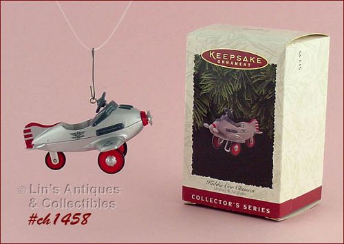 HALLMARK – KIDDIE CAR MURRAY AIRPLANE ORNAMENT