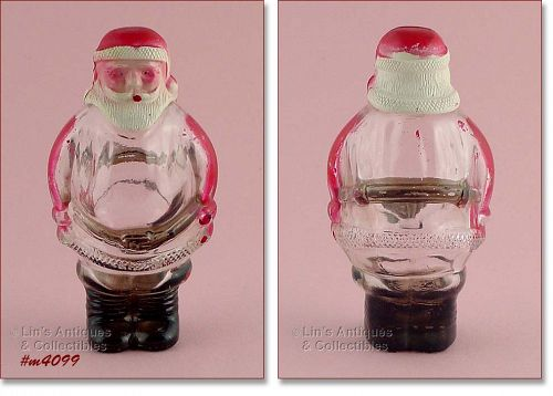 SANTA CLAUS CANDY CONTAINER