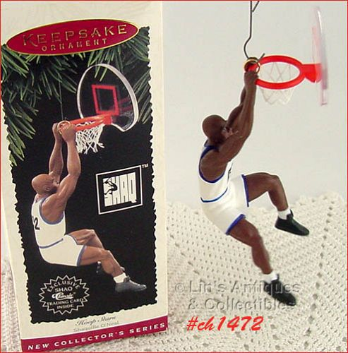 HALLMARK – SHAQUILLE O'NEAL (1995) ORNAMENT