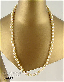BEAUTIFUL EXCELLENT QUALITY FAUX PEARL NECKLACE