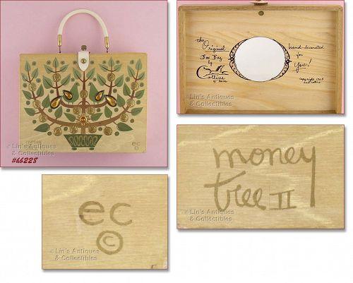 "ENID COLLINS ""MONEY TREE II"" BOX BAG (1965)"