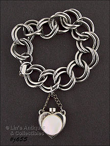 BRACELET WITH ATTACHED PERFUME BOTTLE CHARM