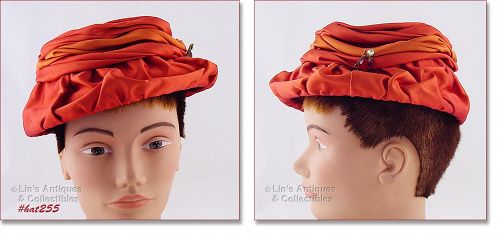 VINTAGE VOGUE MONT HAT WITH TAGS!