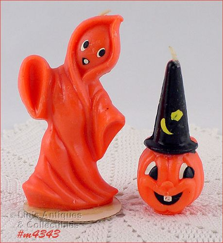GURLEY CANDLE – GHOST AND JACK-O-LANTERN