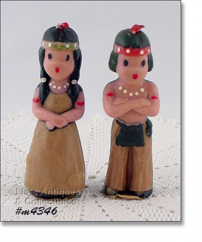 GURLEY CANDLE – INDIAN BOY AND GIRL
