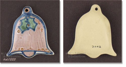 M.A. HADLEY – BELL SHAPED CHRISTMAS ORNAMENT
