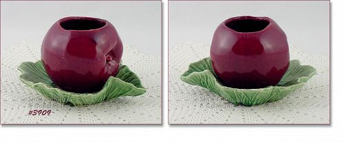 McCOY POTTERY – APPLE ON LEAVES (FRUIT) PLANTER
