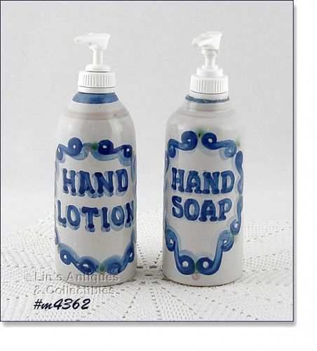 M.A. HADLEY – LOTION AND HAND SOAP DISPENSERS