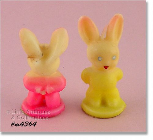 GURLEY – TWO BUNNY CANDLES
