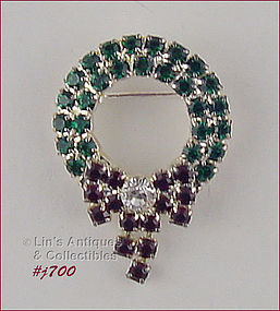 EISENBERG ICE – SMALL WREATH SHAPED PIN
