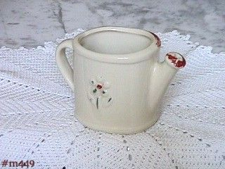 """SHAWNEE POTTERY -- WATERING CAN (3 1/4"""")"""