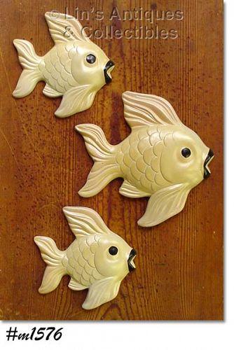 MILLER STUDIOS -- CHALKWARE FISH DATED 1960