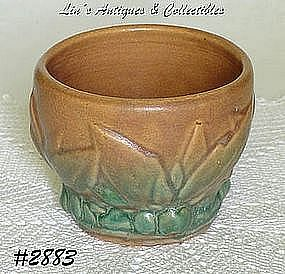 McCOY POTTERY -- WATER LILIES WITH BERRIES JARDINIERE