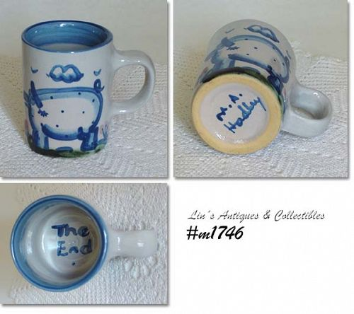 """M.A. HADLEY -- PIG """"THE END"""" CUP"""