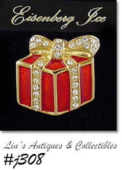 EISENBERG ICE VINTAGE GIFT PACKAGE PIN