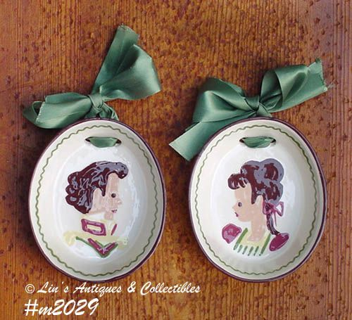 CLEMINSON POTTERY -- WALL PLAQUES