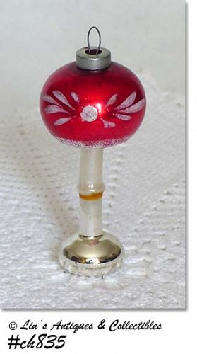 """""""TABLE LAMP"""" GLASS ORNAMENT"""