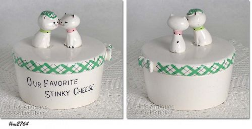 HOLT HOWARD – KOZY KITTEN CHEESE CONTAINER