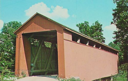 POSTCARD – OLD ENOCHSBURG COVERED BRIDGE
