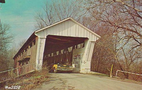 POSTCARD – COBURN COVERED BRIDGE