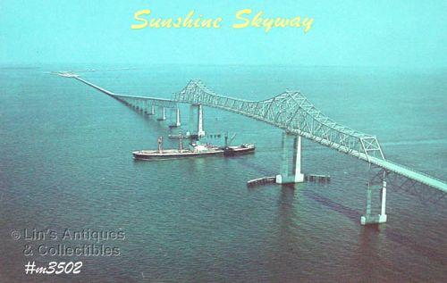 VINTAGE POSTCARD – SUNSHINE SKYWAY, FLORIDA
