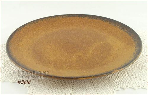 McCOY POTTERY – CANYON CHOP PLATE / PLATTER