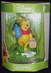 Disney Home Winnie the Pooh July figurine by Enesco