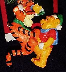 Hallmark ornament  Disney Winnie the Pooh and Tigger