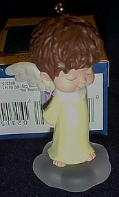 Hallmark angel ornament  Mary