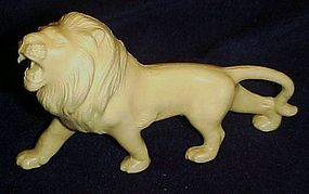 Old Japan celluloid  toy lion figurine