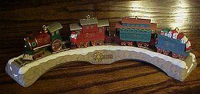 Hallmark Claus & Company RR keepsake ornament set