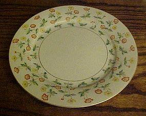 RC Noritake N1462 Dinner Plate yellow and orange flower