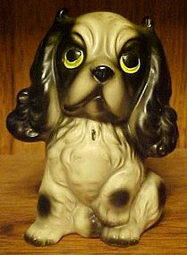 Vintage Victor ceramic Cocker Spaniel dog figurine