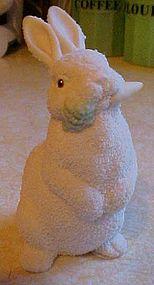 Dept 56 Snow bunnies 1996 Easter rabbit figurine